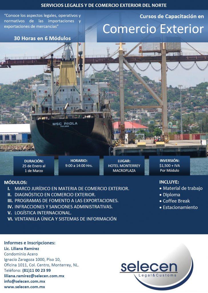 Flyer Curso de Capacitacion 2014